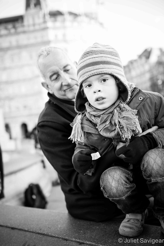 Father & son - Family Photographer, London