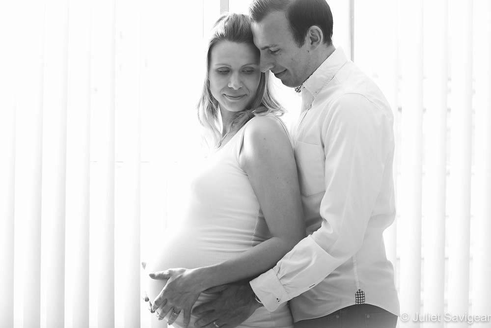 Silhouette Pregnancy Photography