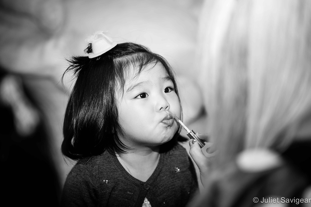 Pouting Lips - Children's Photography, St Johns Wood