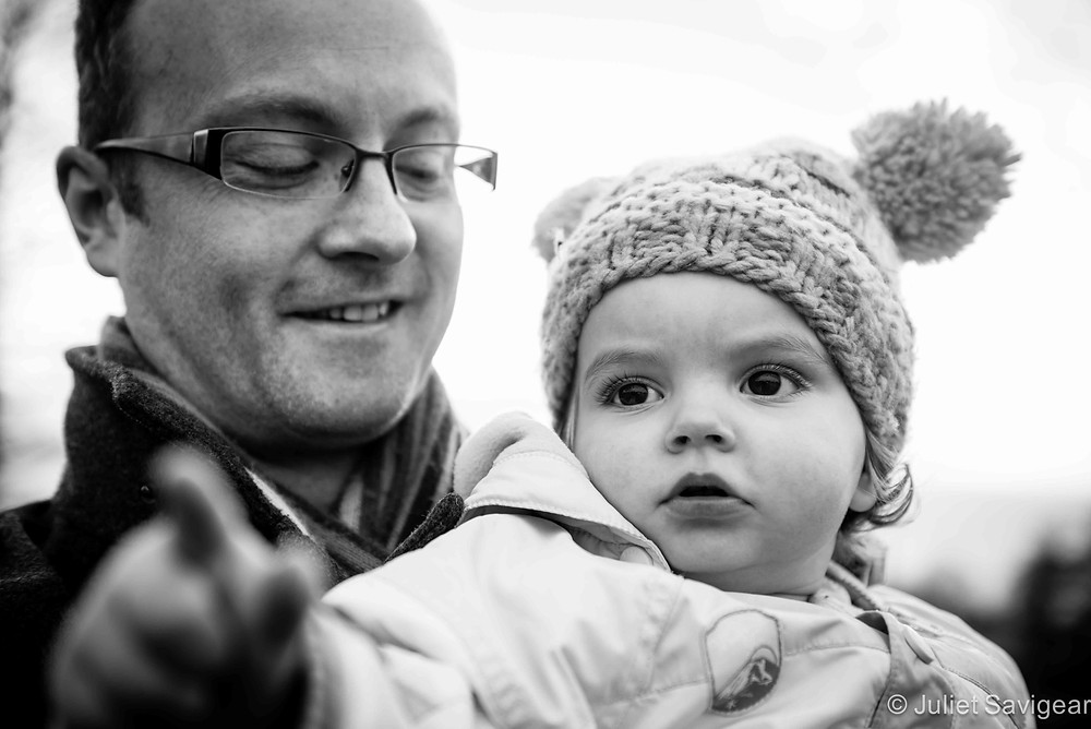 Father & Daughter - Family Photography, Brockwell Park