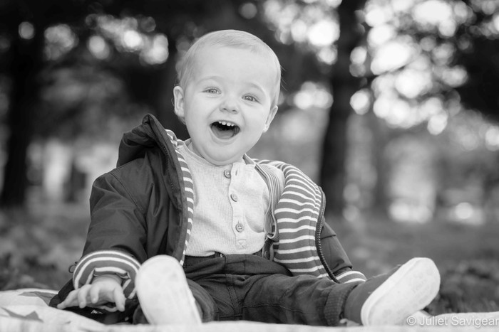 Outdoor Photo Shoot With One Year Old - Wandsworth Common
