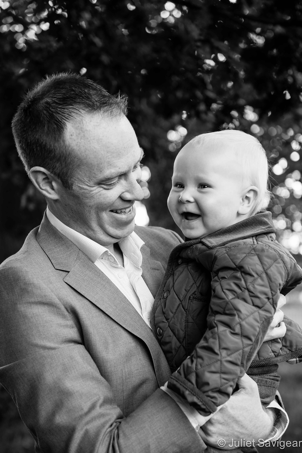 Father & Son - First Birthday Photo shoot - Clapham Common