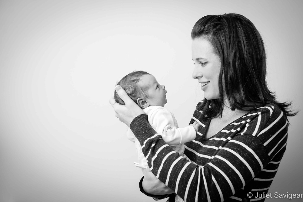 In Mother's Arms - Newborn Baby & Family Photography, Battersea