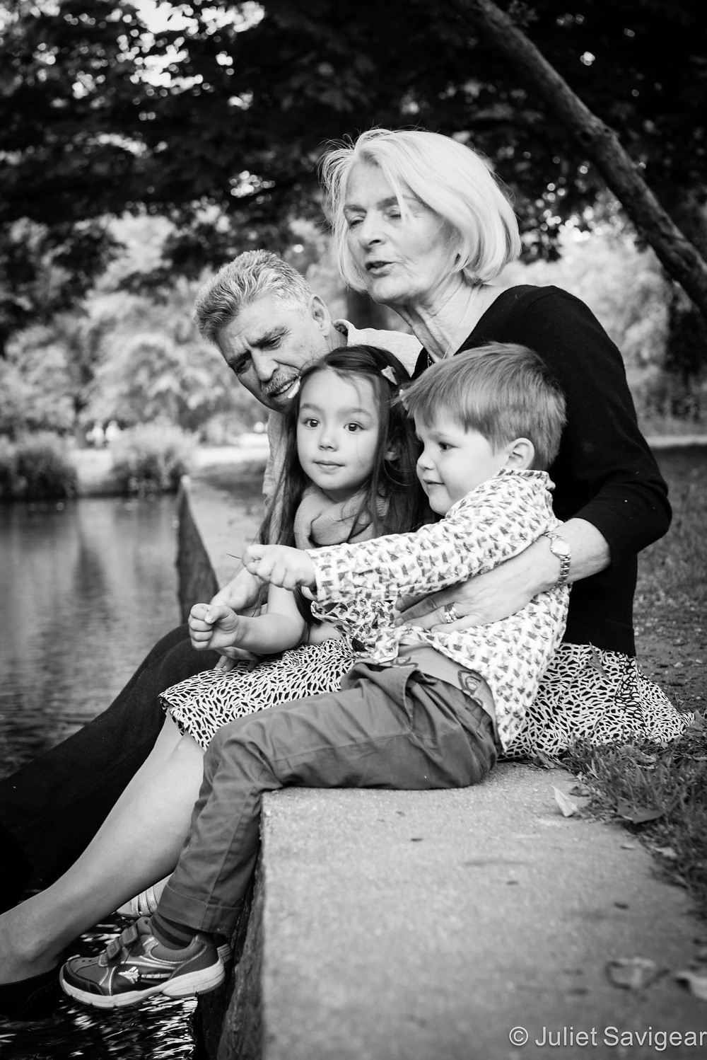 Fishing - Family Photography, Wimbledon