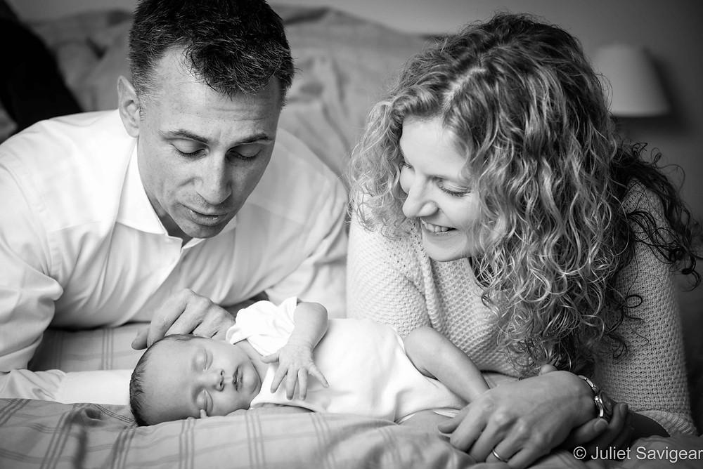 Family Portrait - Newborn Baby Photography, Clapham