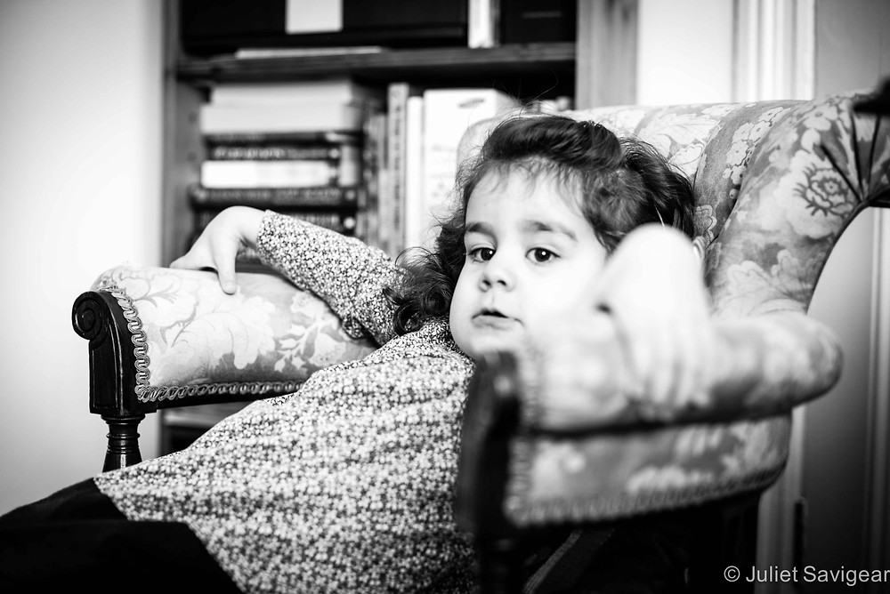 This Is My Chair - Children's Photography, Clapham