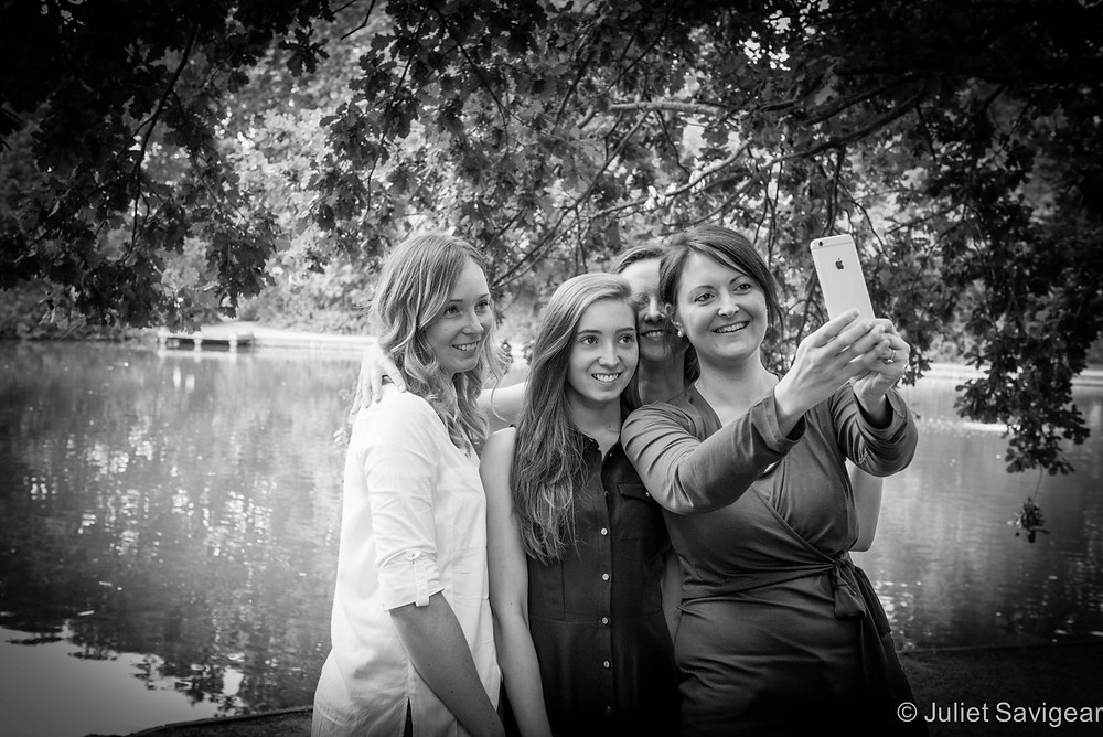 Selfie! Family Photography, Tooting Common