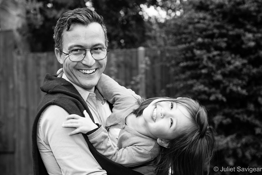 Father & Daughter - Family Photography - Harrow On The Hill