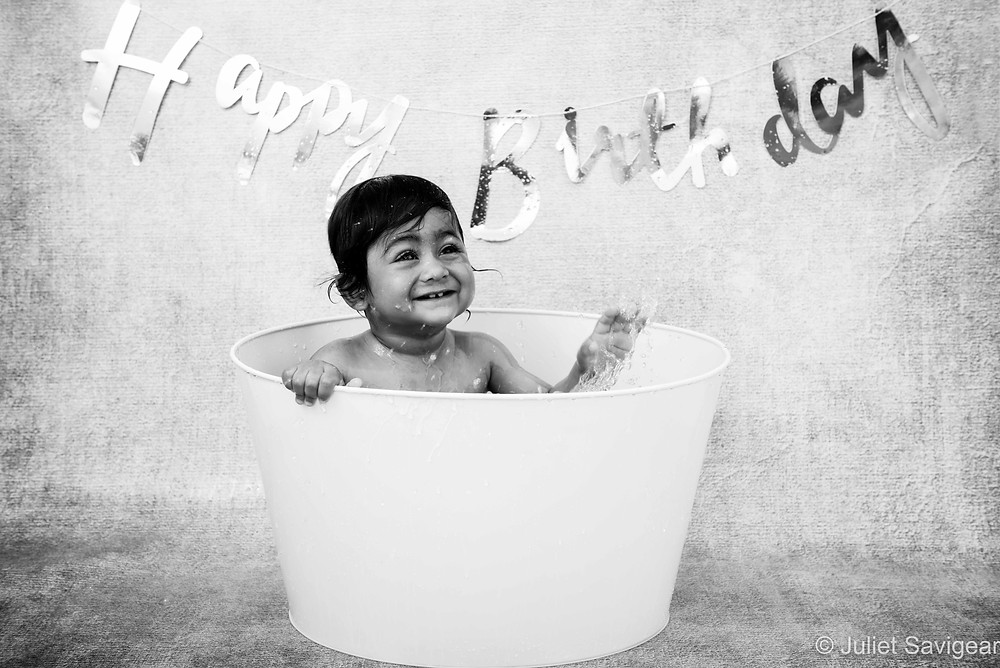 Splash! - First Birthday Photography, Wimbledon