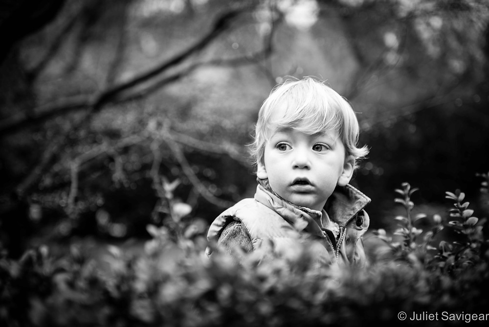 Behind The Hedge - Children's Photography, Purley
