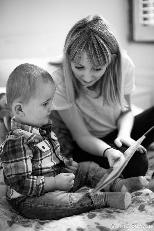 Reading With Mummy - Baby & Family Photography, Tottenham