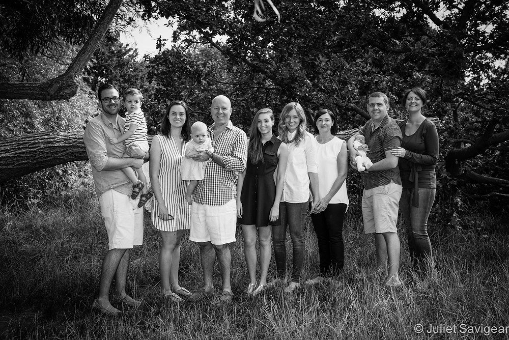 Extended Family Portrait - Family Photography, Tooting Common