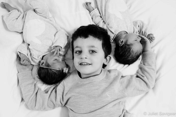 Newborn Baby Twins & Family Photographer - Streatham