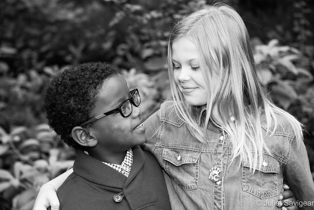 Brother & Sister - Children's Photography - Southwark Park, London