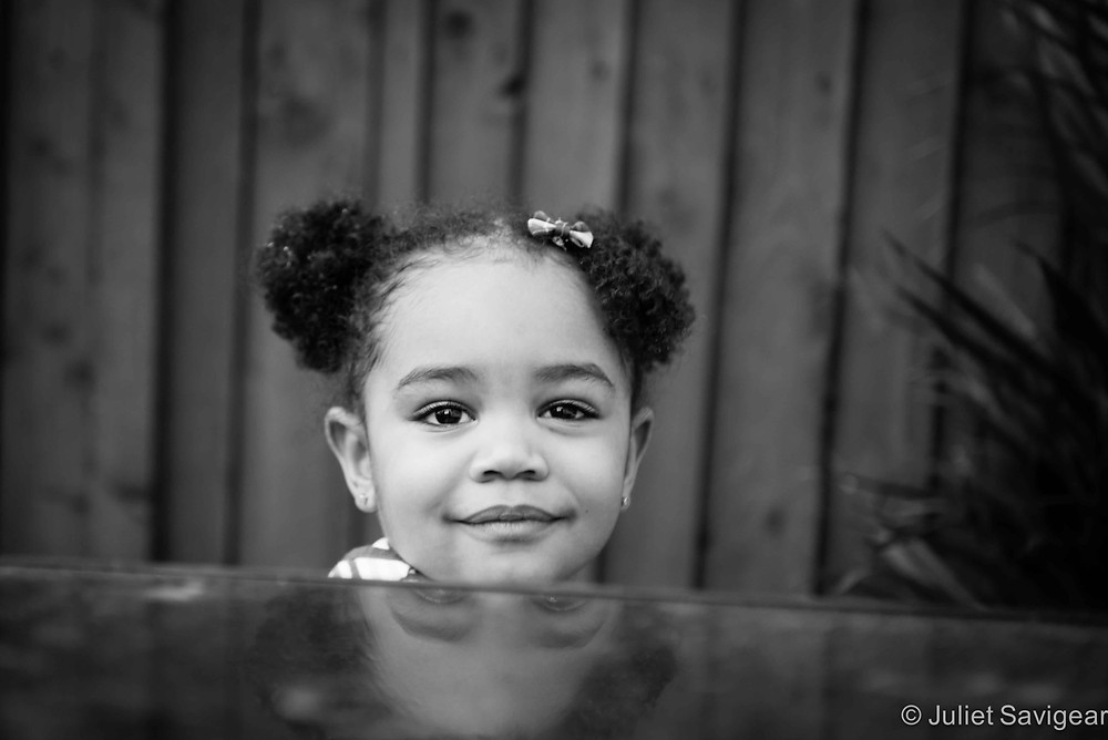 Peek-a-boo - Children's Photography, Brixton