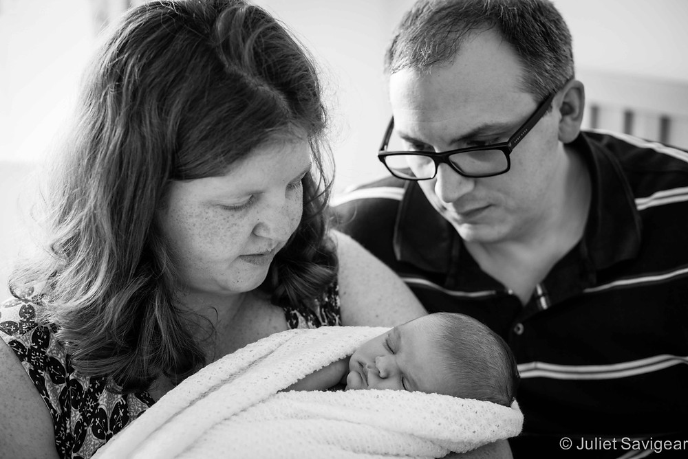 New Family With Baby - newborn Baby Photography, Carshalton