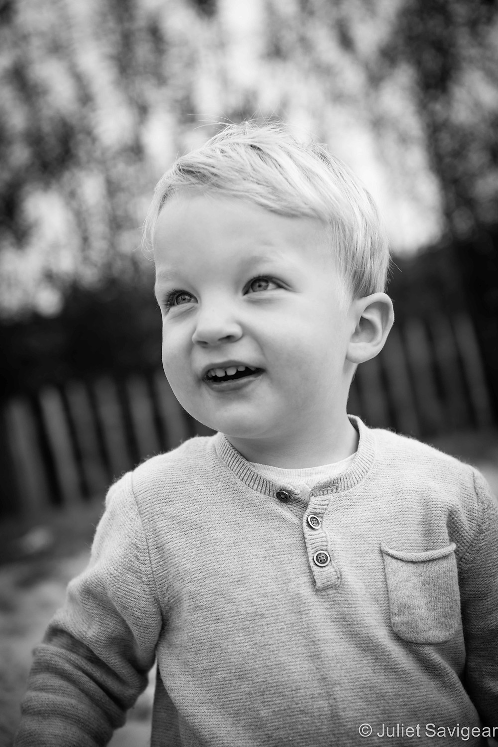 Portrait Of A Young Boy - Children's Photography, Tooting Common