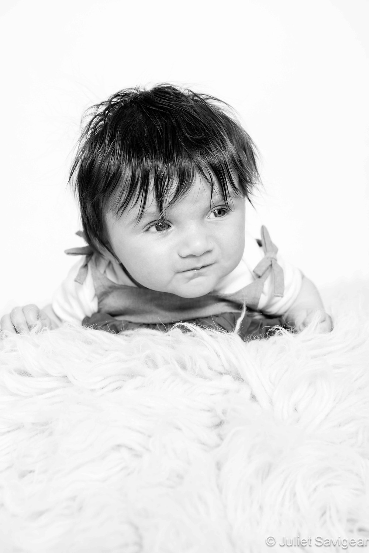 Tummy Time - Baby Photography, Putney