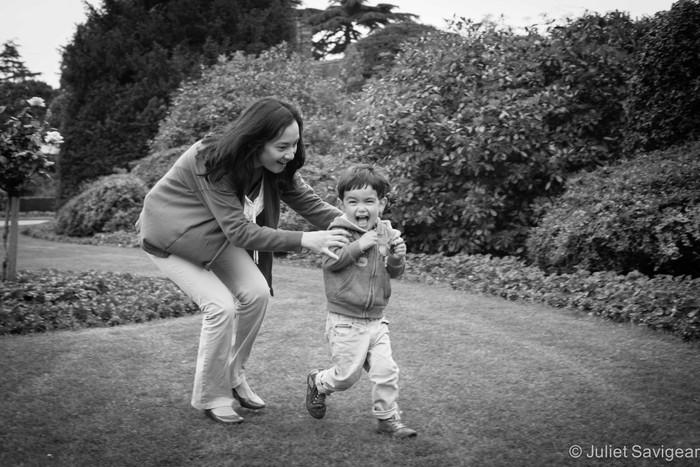 Hidden Gem in Wimbledon - Baby & Family Photography Shoot
