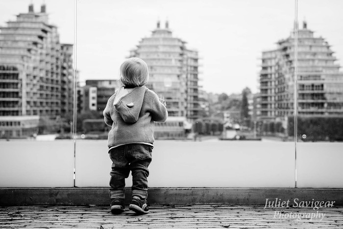 The Curiosity Of The Toddler - Photo Shoot - Fulham