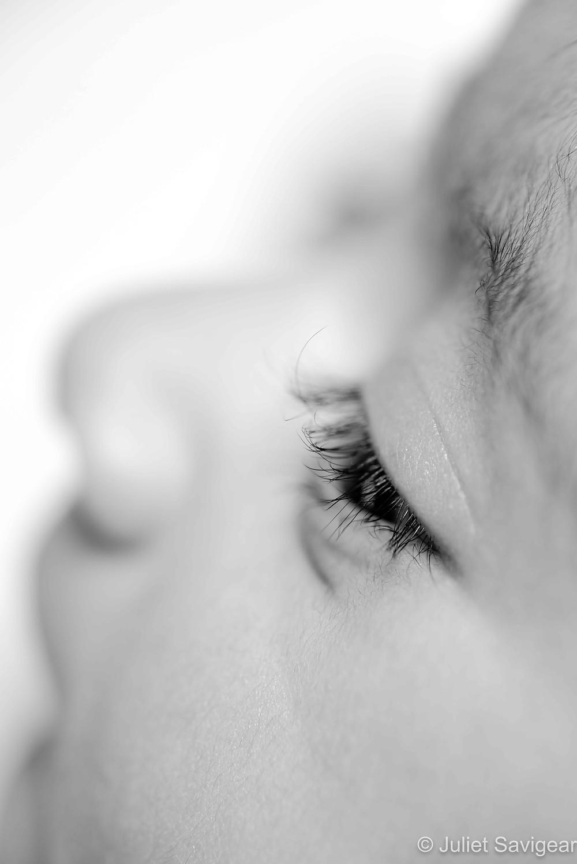 Baby's eye lashes