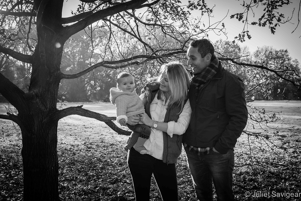 A Winter's Day - Family Photography, Tooting Common