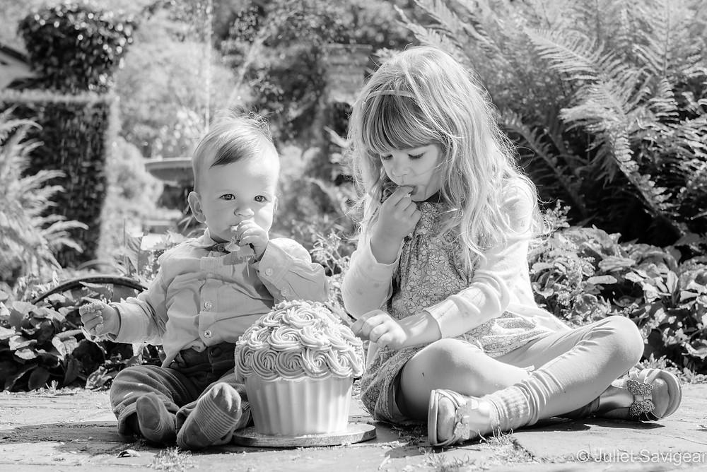 Brother & sister cake smash