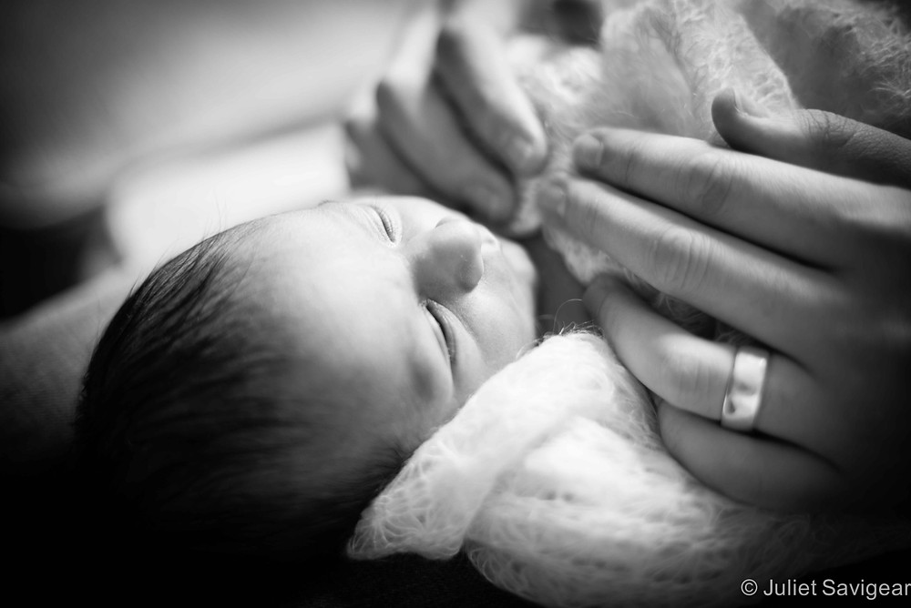 Delicate Hands - Newborn Baby & Family Photography, Brixton