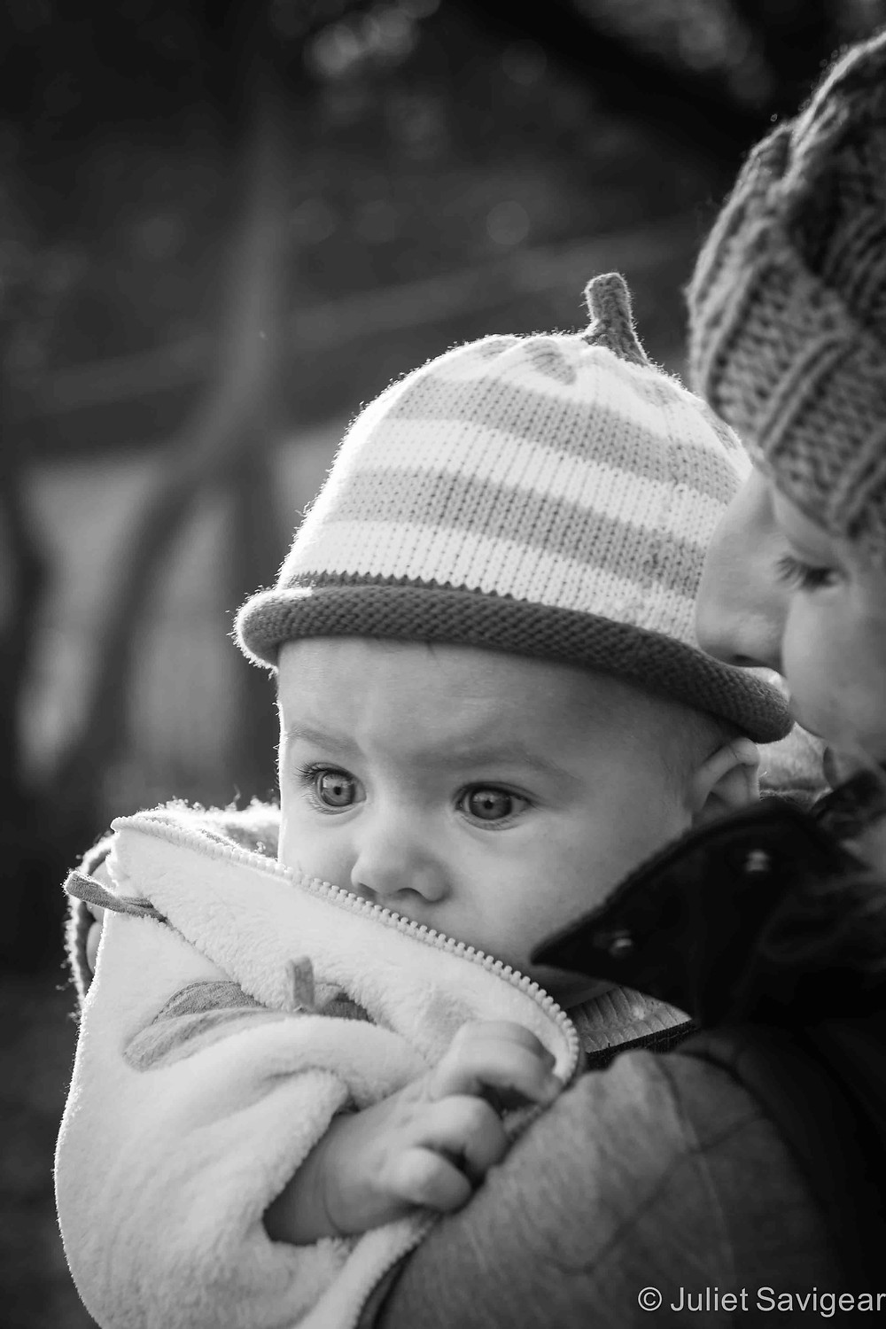 Cuddled With Mummy - Baby & Family Photography, Wimbledon Park
