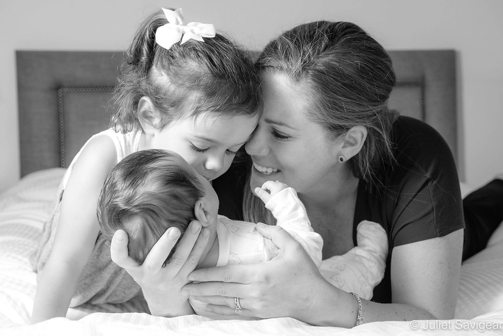 Mother & her babies