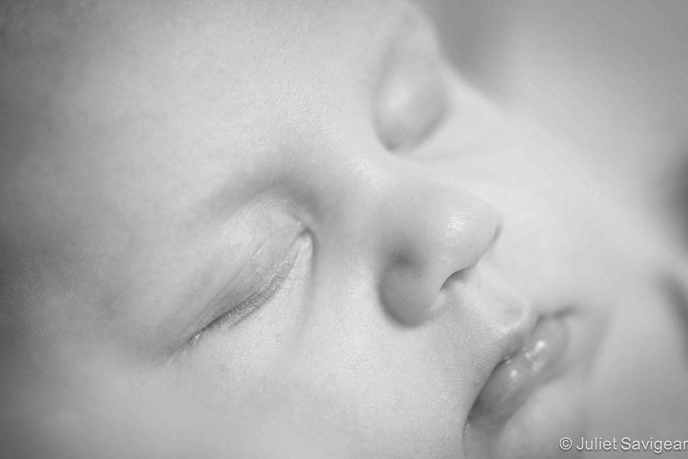 Sleeping Baby - Baby Photography, Orpington