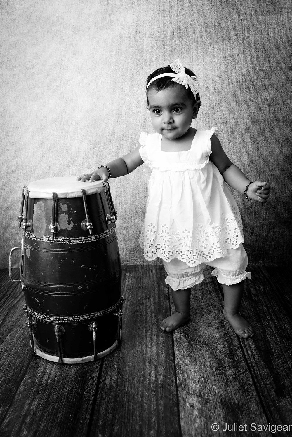 Pretty As A Dhol - Baby Photography - Mitcham