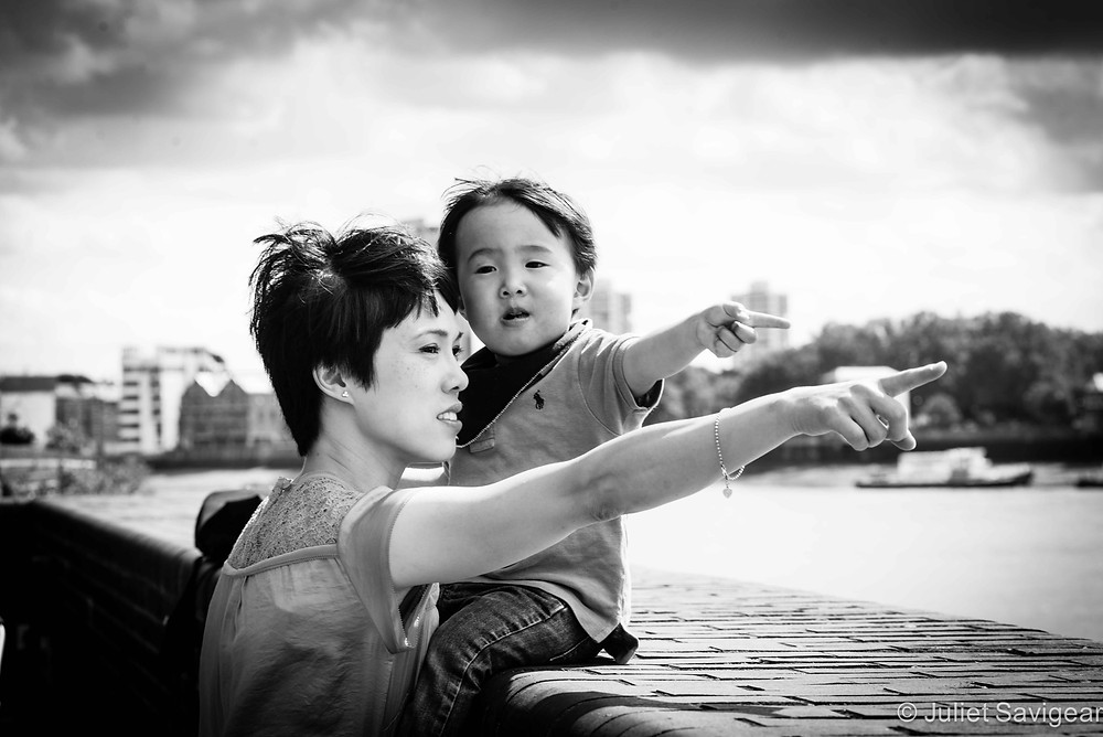 View Over The Thames - Family Photography, Wapping, London