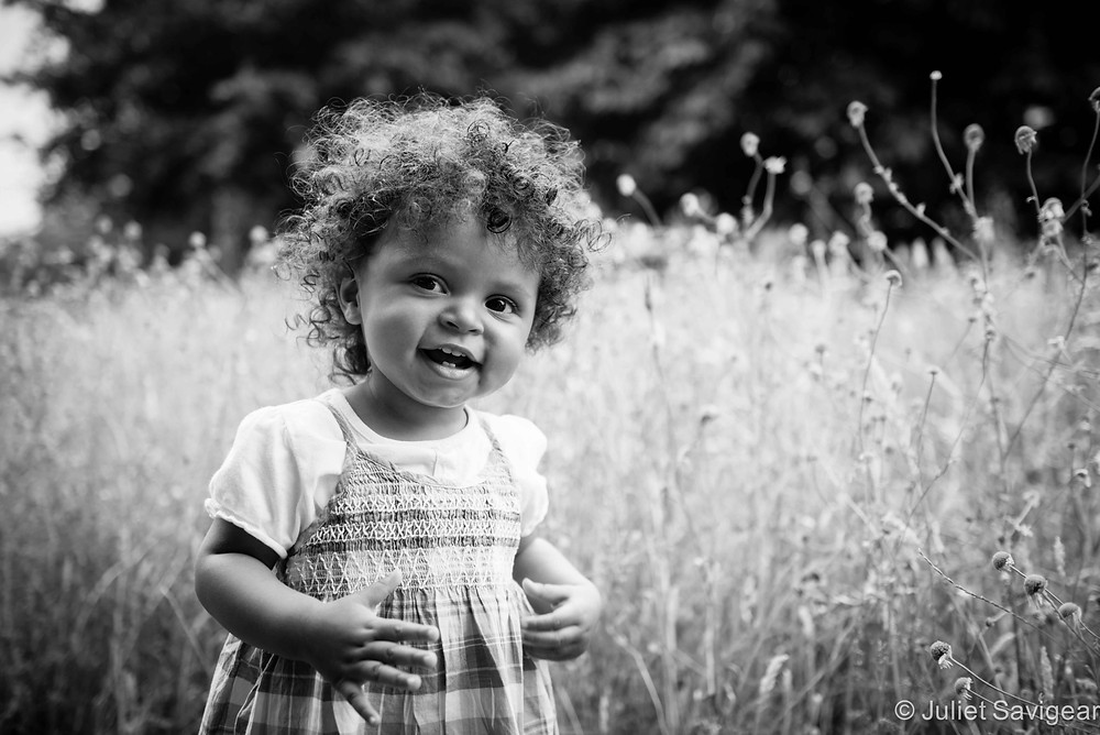 In The Grass - Toddler Photography, Surrey Quays, London, SE16