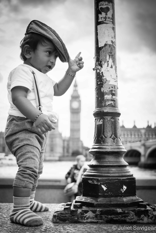 London Boy - Children's Photography