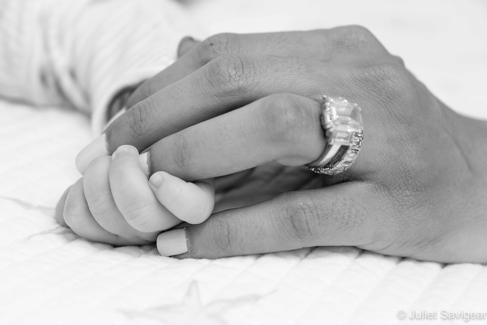 Hands - Baby Photography, London