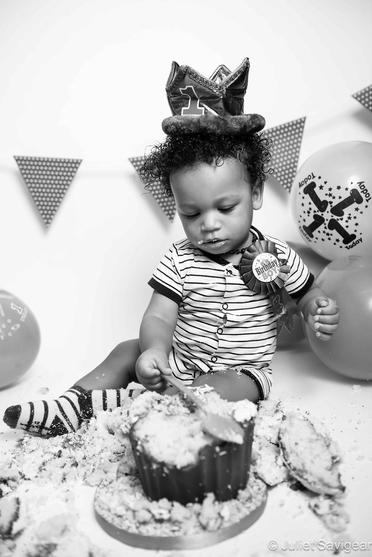 Birthday Boy - First Birthday Cake Smash - Brixton