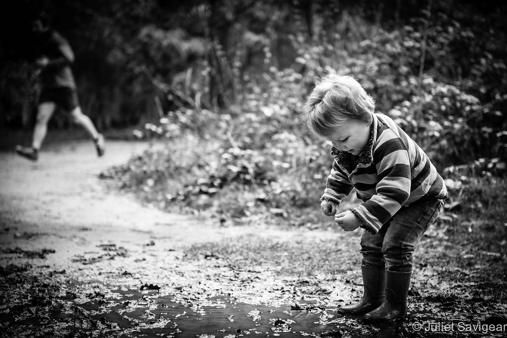 Puddles! Family Photo Shoot - Wimbledon Common