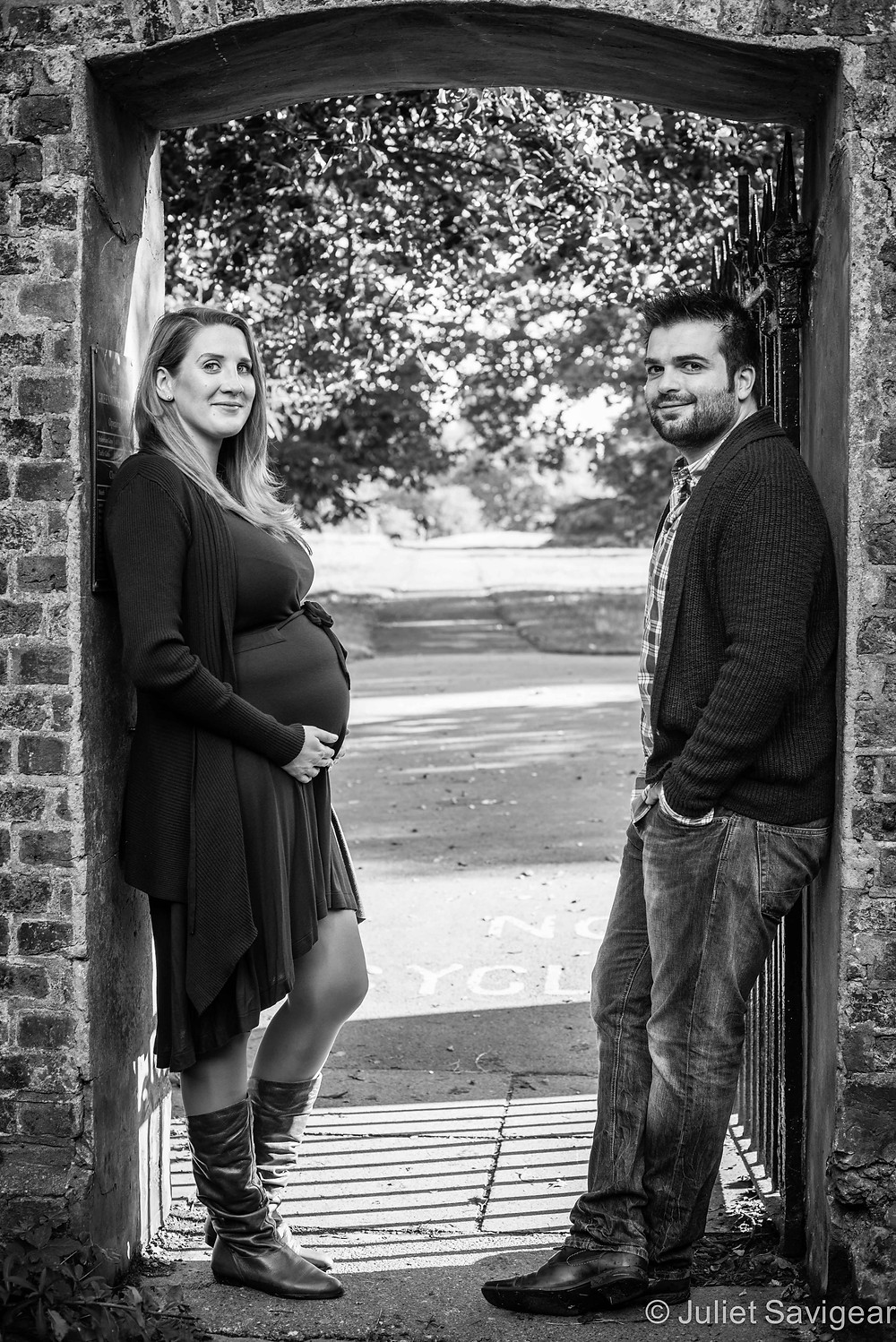 There Will Soon Be Three! Maternity Photography - Greenwich Park