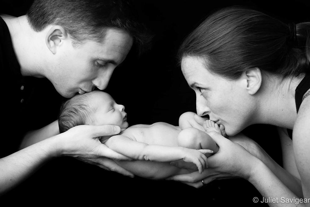 Kisses - Newborn Baby Photography, Balham