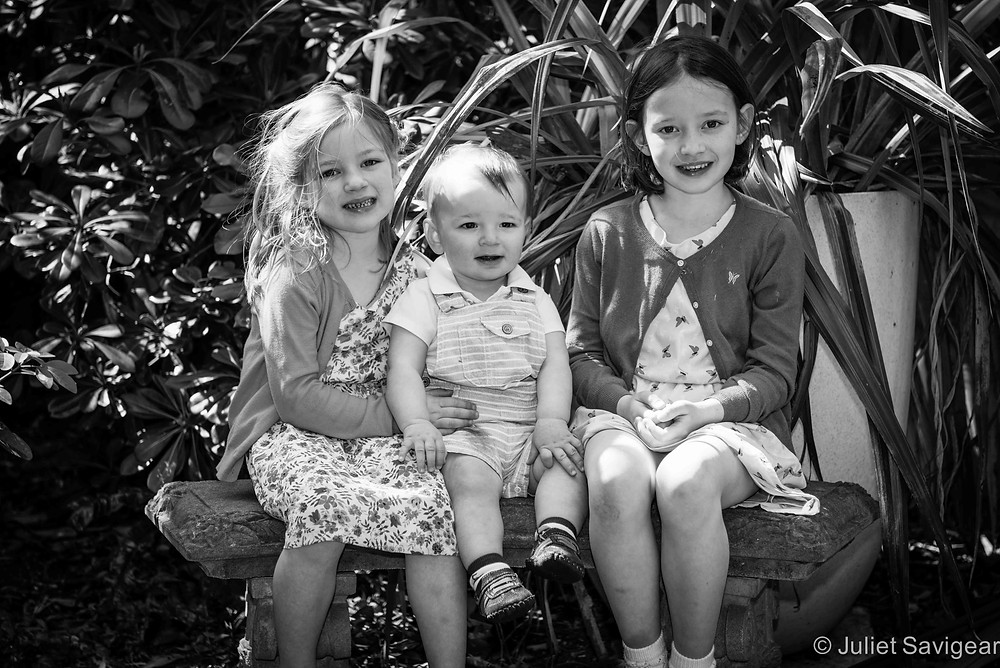 Three Siblings - Children's Photography, Clapham