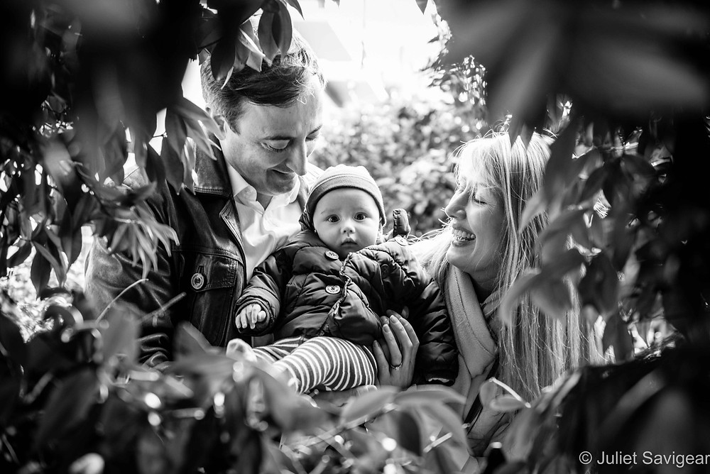 Through The Hedge - Baby & Family Photography, South Kensington