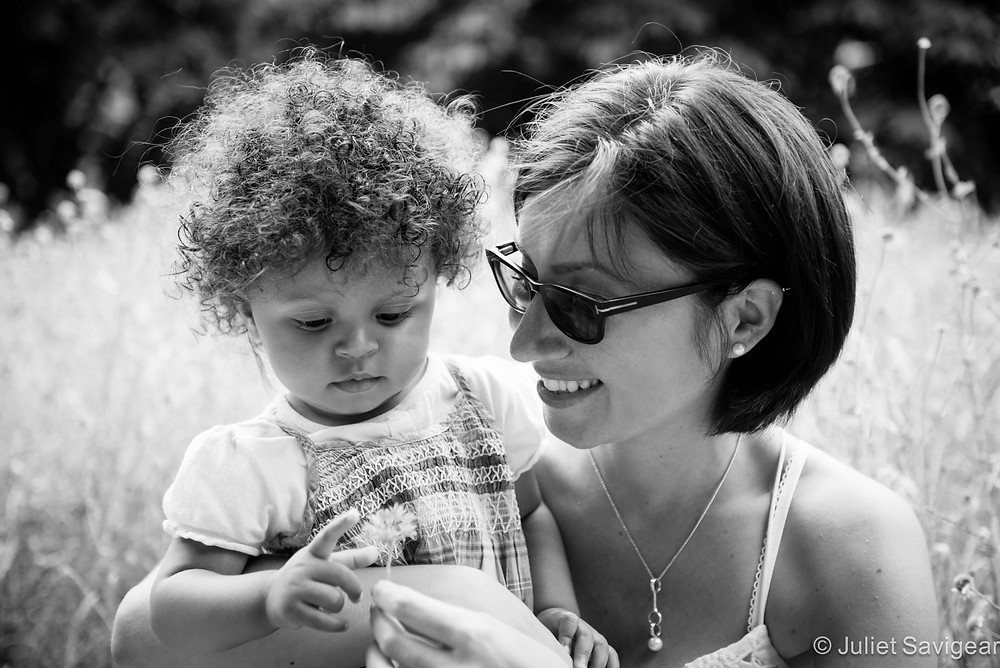 Mother & Daughter In The Sunshine - Family Photography, Surrey Quays, London, SE16