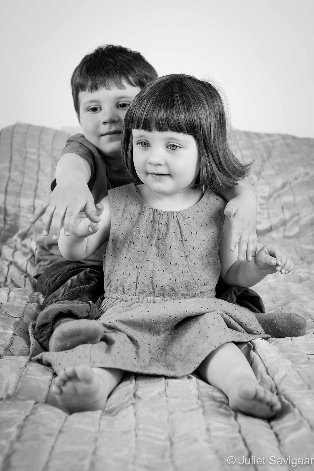 Brother & Sister - Children's Photography, Wimbledon