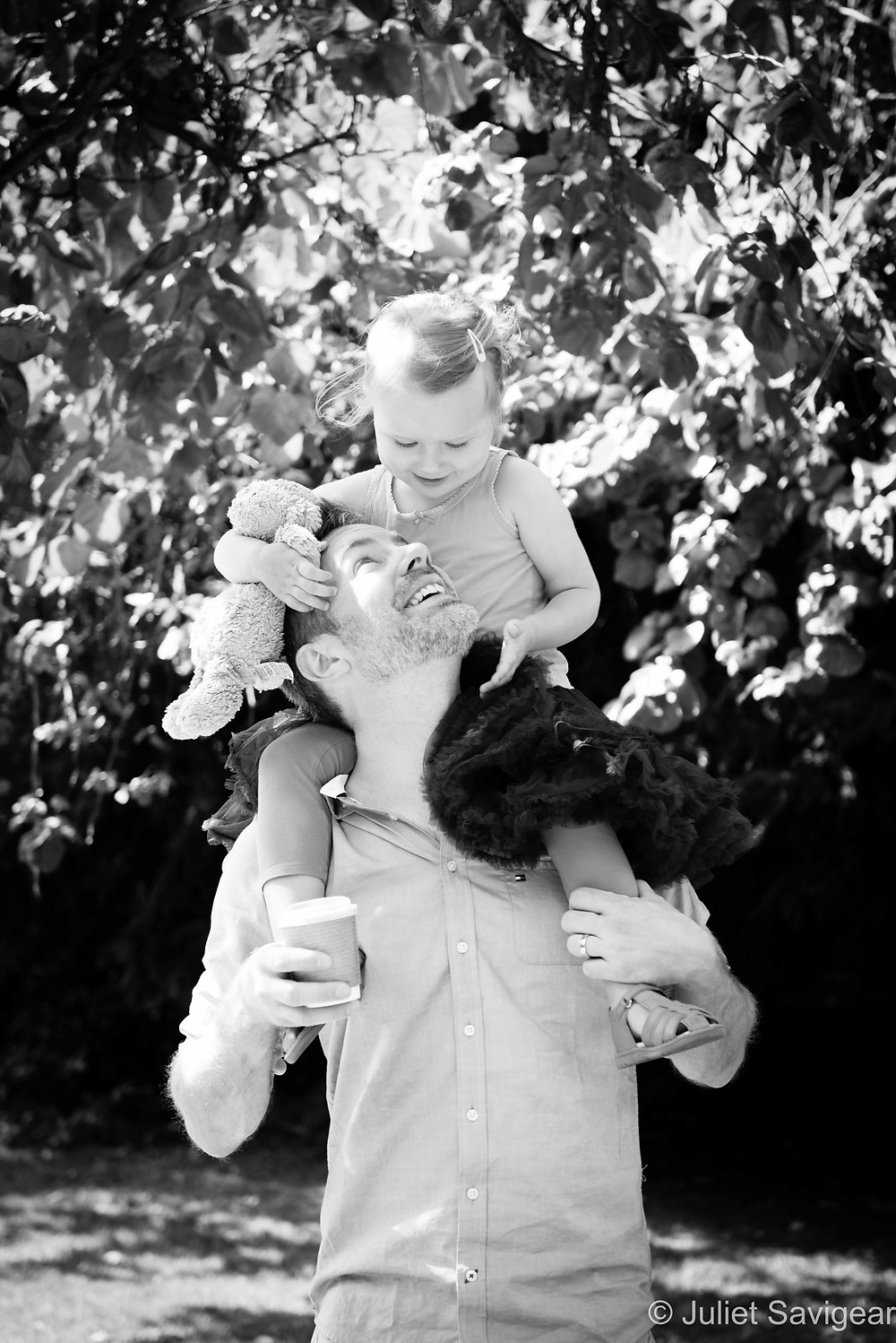 Daddy & His Girl - Family Photography, Peckham Rye Park