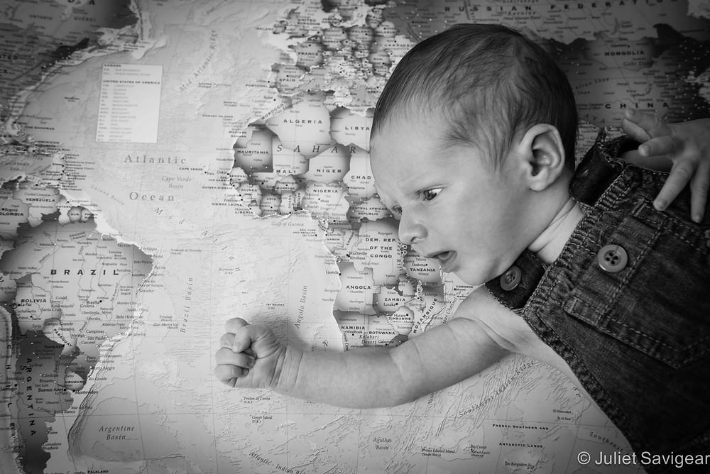 Africa! Newborn Baby Photography, Worcester Park