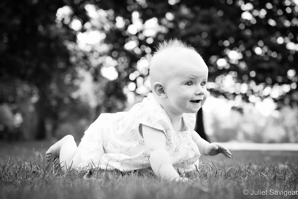 On The Move! Baby Photography - Wandsworth Common