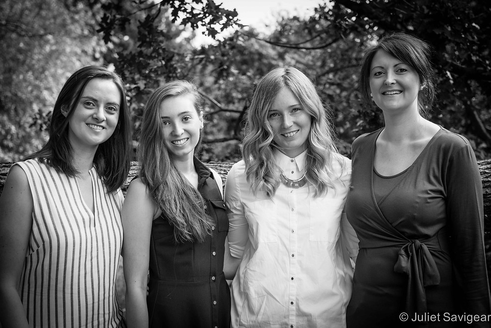 Four Sisters - Family Photography, Tooting Common