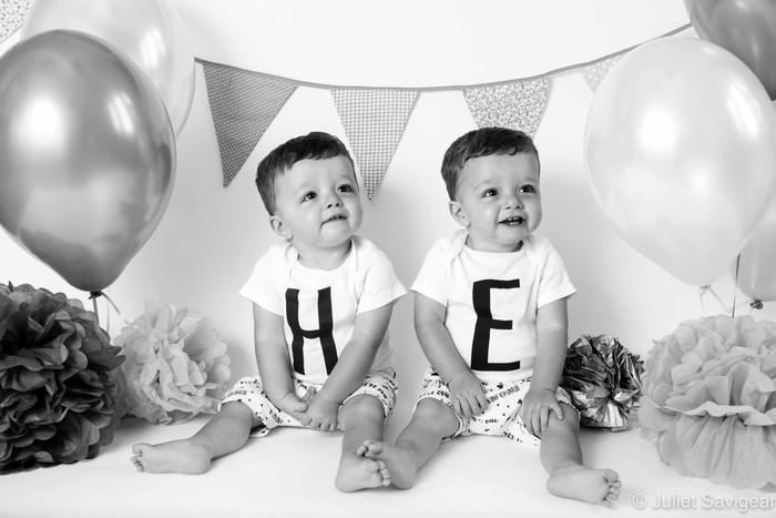 Twins First Birthday Photographer - Balham