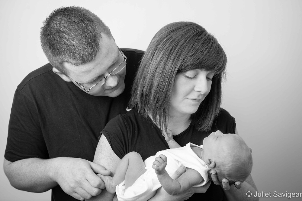 Family Portrait - Newborn Baby & Family Photography - Willesden